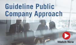 Guideline Public Company Approach