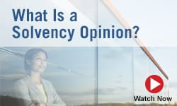 What is a Solvency Opinion?
