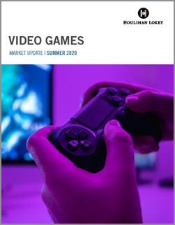 Video Game Industry Market Update – Spring 2020