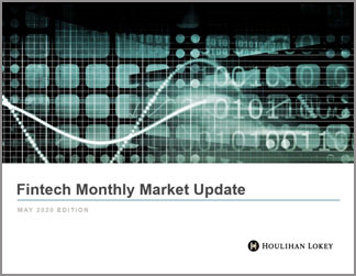 Fintech Monthly Market Update – May 2020 Edition
